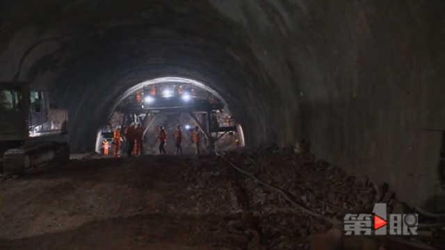 奉节口前半岛隧道图